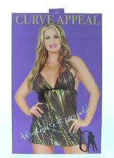 Curve Appeal Black and Gold Babydoll with open back, Plus Size