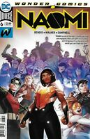 Naomi Comic Issue 6 Cover A First Print 2019 Brian Michael Bendis Walker DC