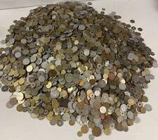 Lot De Pieces De Monnaies Française Et Étrangère Vendu Au Kilos *L@@K*