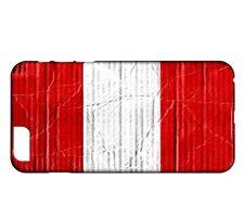 Coque iPhone 8 Drapeau PEROU 04