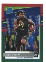 2020 Donruss #P-345 DEEJAY DALLAS Seattle Seahawks OPTIC PRIZM HOLO Rated Rookie