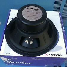 "Radio Shack Vintage 12"" Woofers 8 ohms, 150w max Model # 40-1034 , w1top"