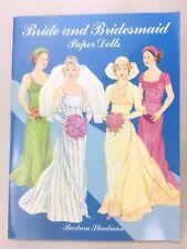Barbara Steadman Paper Dolls Bride and Bridesmaid Wedding Uncut