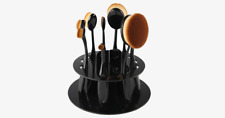 Makeup Brush Holder for Set of 10 Oval Brushes – Home for Your Brushes