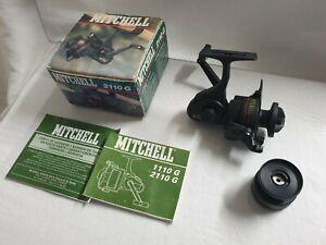 Reel Vintage MITCHELL 2110G + BOX - LIKE NEW -   MOULINET ANCIEN THREADLINE RARE