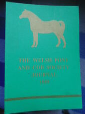 THE WELSH PONY AND COB SOCIETY JOURNAL 1989