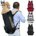 LOVABLEDOG Large Dog Pet Carrier Breathable Golden Retriever Backpack Travel Bag