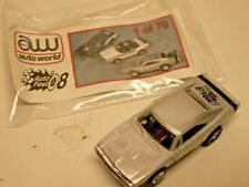 Super Rare - Auto Fest '08 Event Exclusive Dodge Charger w/ card, bag (Silver)