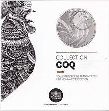 Flyer de la monnaie de Paris - Collection Coq - 2015
