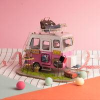ROBOTIME DIY Dollhouse Miniature Furniture Kits Wooden Craft Kit Birthday Gift