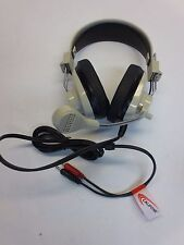 CALIFONE 3066AV DELUXE MULTI-MEDIA STEREO HEADPHONES w/ MICROPHONE - NEW SURPLUS