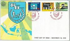 61565 -  INDONESIA - POSTAL HISTORY - FDC COVER 1973:  EDUCATION Religion FAMILY