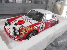 Porsche 911 s Rally de Monte Carlo 1972 #4 larrousse seb shell Minichamps 1:18
