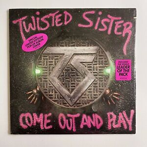 SEALED TWISTED SISTER Come Out And Play ATLANTIC 81275 LP Pop Up Cover