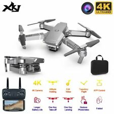 4K Kamera Drohne Selfie Quadrocopter Routenplanung FPV RC Faltbar Drone 3 Akkus