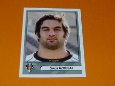 N°164 AZOULAI CA BRIVE CORREZE LIMOUSIN PANINI RUGBY 2007-2008 TOP 14 FRANCE