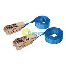 2Pk Endless Ratchet Tie-Down Strap - Rated 250Kg Capacity 500Kg