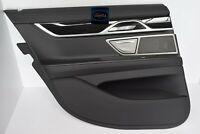 BMW 7 G11 Türverkleidung Links Hinten Panel Leather Nappa Black 300km!