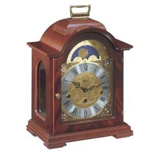 Hermle Debden Arched Mahogany Mantel Clock 22864-070340