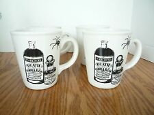 NEW MAGENTA INC SET 4 HALLOWEEN APOTHECARY MUGS CUPS  Magic Potion Spiders
