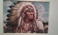 "1977 Alfredo Rodriguez ""Chief Strongwind"" Small Re-Print 4.5"" x 6.5"""