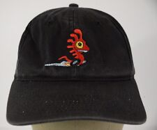 Black Monster.com baseball hat cap embroidered snap back.