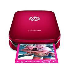Hp Sprocket Zink impresora Fotográfica Portátil rojo