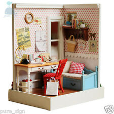 DIY Handcraft Dolls House Miniature The Fond Memories Kit Wooden Doll house