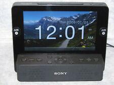 "Sony Dream Machine ICF-CL75iP iPhone iPod Dock Clock Radio with 7"" LCD Screen"