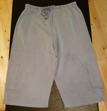 Hot Cotton Shorts by Marc Ware Small Sterling Blue