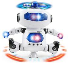 Walking Dancing Electronic Smart Space Robot Astronaut Light Music Toy Kids Gift