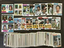 1974 Topps Set (300) BASEBALL CARDS Starter LOT * AARON * STARGELL * MUNSON