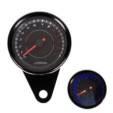Motorbike Backlight 12V Tachometer Speedometer Tacho Gauge 0-13000 RPM