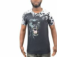 Mens T-Shirt Juice Panther Sublimated Longline Tee Top