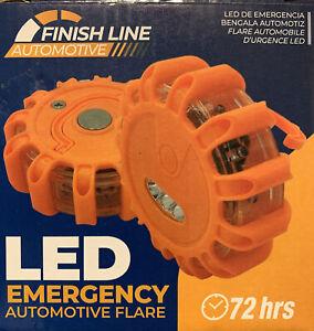 Finish Line LED Emergency Automotive Flare Kit 3 Pods