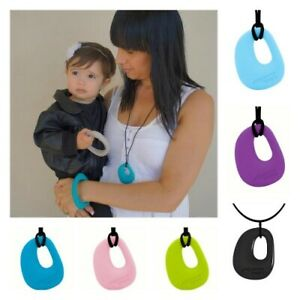 New Jellystone Designs Teething Organic Necklace 5 Colours Free Express Shipping