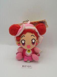 "Ojamajo Doremi B2101 Harukaze Banpresto 2002 Mascot Keyring Plush 4"" Doll Japan"