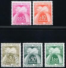 FRANCE J93-J97 MINT NH (ex cheap used 95) POSTAGE DUE