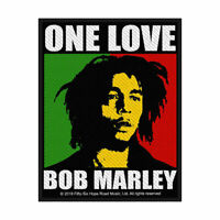 BOB MARLEY ONE LOVE OFFICIAL LICENSED SEW ON PATCH REGGAE LOVERS ROCK BADGE NEW