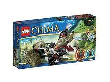 Lego Chima 70001 CRAWLEY'S CLAW RIPPER Crawley Leonidas Minifigs NISB Xmas Gift