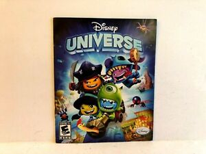 Disney Universe PS3 MANUAL ONLY Authentic Original