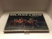Win Place Show 3M Sports Horse Betting Racing Board Game 1966 Vintage Complete