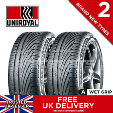 2x NEW 215 45 17 UNIROYAL RAINSPORT 3 91Y XL (2 TYRES) 215/45R17 'A' WET GRIP!