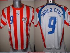 Paraguay Santa Cruz Shirt Puma Adult S Soccer Football Jersey Malaga Blackburn