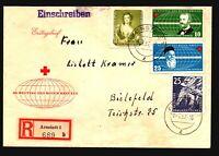Germany DDR 1957 Arnstadt Registered Cover w/ Better (III) - Z17230