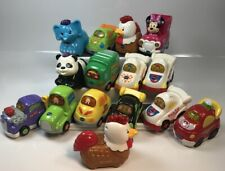 Lot of 15 Vtech Go! Go! Smart Wheels Cars, Animals Trucks & Other Vehicles Ba717
