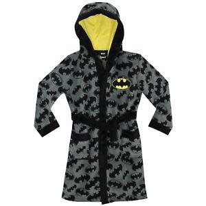 Boys Batman Dressing Gown | DC Comics Batman Robe | Batman Gown | NEW