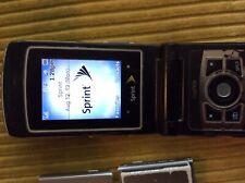 Sanyo Katana Ii - Black & Silver (Sprint) Scp-6650 Cellular Phone Bu