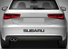 Rear Bumper Stickers Fits Subaru Impreza Vinyl Decal Premium Quality XZ92