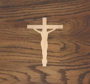 Cross Laser Cut Wood, Sizes up to 5 feet, Multiple Thickness, Crafting A014